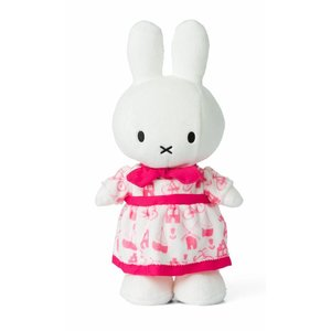 Nijntje (c) Miffy - pink dress 34 cm