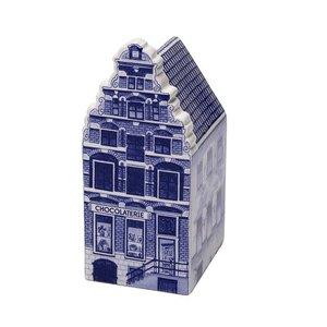 Typisch Hollands Chocolaterie  Groot - Delfts blauw