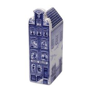 Heinen Delftware Huize Wellust  Groot - Delfts blauw