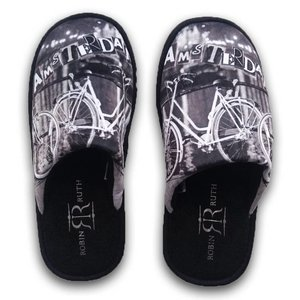 Robin Ruth Fashion Men's Slippers - Bicycles - Amsterdam