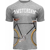 FOX Originals T-Shirt Amsterdam - Biketown - Fietsprint