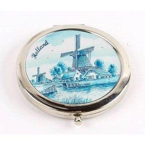 Typisch Hollands Mirror box Holland- Delft blue