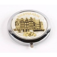 Typisch Hollands Mirror box Amsterdam - White