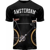 FOX Originals T-Shirt Amsterdam - Biketown - Bicycle print.