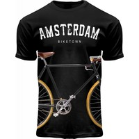 FOX Originals T-Shirt Amsterdam - Biketown - Fahrraddruck
