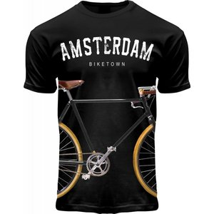 FOX Originals T-Shirt Amsterdam - Biketown - Bicycle print