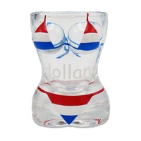 Typisch Hollands Shotglas - Bikini - Lady - Holland