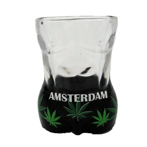 Typisch Hollands Shotglas Torso - man - Cannabis