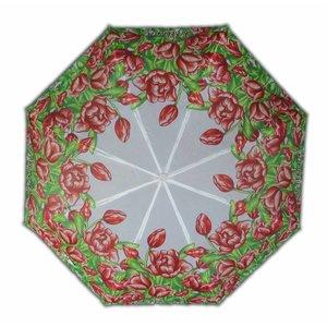 Typisch Hollands Paraplu Holland tulpen Rood-Wit