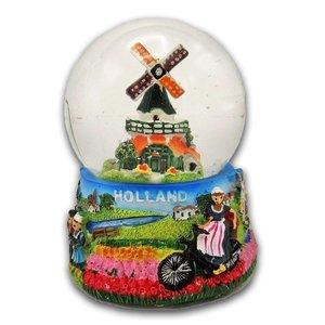 Typisch Hollands Snow globe with Mill medium - Old Dutch