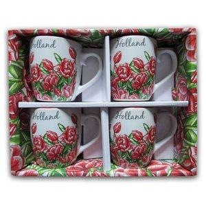 Typisch Hollands Geschenkbox Senseo Becher (4x)