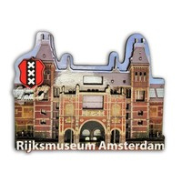 Typisch Hollands Magneet 3D Rijksmuseum