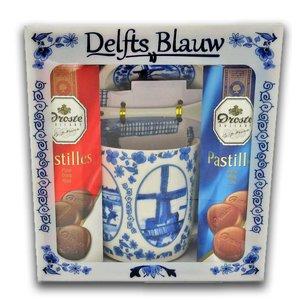 Droste Droste Giftbox - Holland - Delft blue