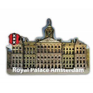 Typisch Hollands Magnet 3D Palace on the Dam