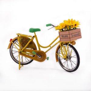 Typisch Hollands Fiets Zonnebloemen van Vincent van Gogh.