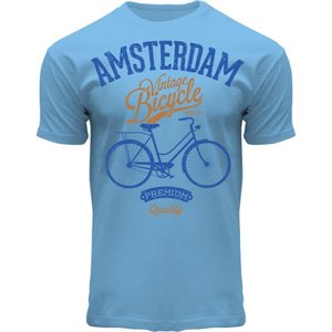 Holland fashion T-Shirt Amsterdam - Bike - premium