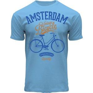Holland fashion T-Shirt Amsterdam - Fiets - premium