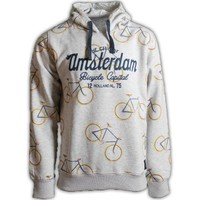 FOX Originals Hoodie - Amsterdam - All-Over-Druck Fahrräder