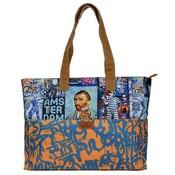 Typisch Hollands Large Vincent van Gogh-Orange shoulder bag