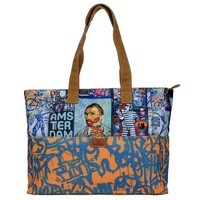 Typisch Hollands Large shoulder bag Vincent van Gogh - Orange