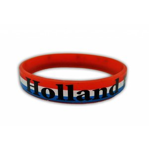 Typisch Hollands Armbandje Rubber - Holland - the Netherlands