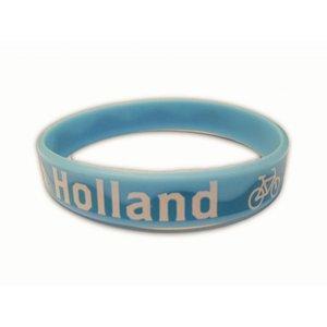 Typisch Hollands Armbandje Rubber - Amsterdam - Fiets