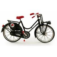 Typisch Hollands Fiets zwart - Classic - Amsterdam-Holland - (fietsrekje)