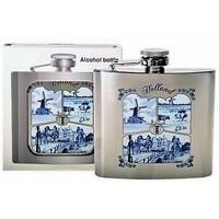 Typisch Hollands Bag bottle - Aluminum - Delftware