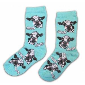 Holland sokken Kindersokken - Holland - Koeien  ( 5-6 jaar)