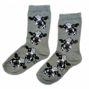 Holland sokken Kindersokken - Holland - Koeien  ( 7-8 jaar)