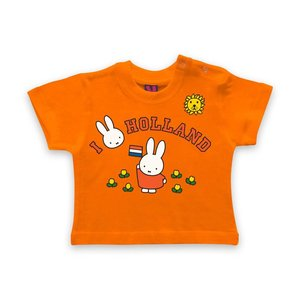 Nijntje (c) Baby T-Shirt Miffy - I Love Holland
