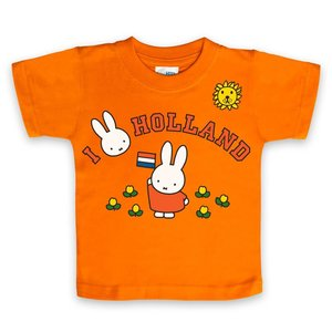 Nijntje (c) T-Shirt Miffy - I Love Holland