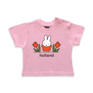 Nijntje (c) Baby T-Shirt Nijntje - Holland - Pink