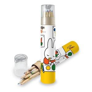 Nijntje (c) Colored pencils - Miffy - Storage case