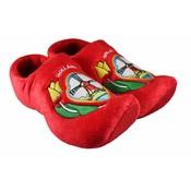 Typisch Hollands Typically Dutch - Clog Slippers - red