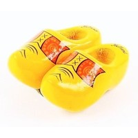 Typisch Hollands Magnet - Clogs - Yellow - Boerbies