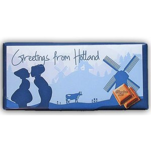 Typisch Hollands Holland Chocolade - Melk - Greetings from Holland