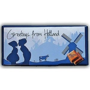 Typisch Hollands Holland Chocolate - Milk - Greetings from Holland