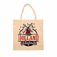 Typisch Hollands Tas katoen Holland - Molen