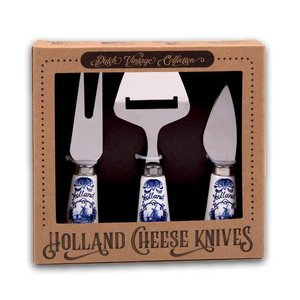 Typisch Hollands Cheese knives - in gift wrapping