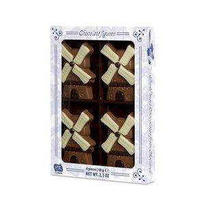 Typisch Hollands Chocolade molentjes - Mini box 60 gram