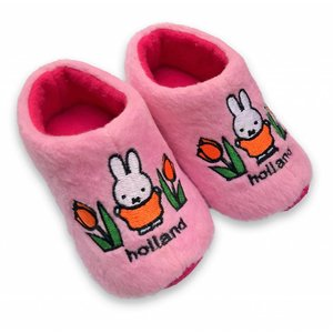 Nijntje (c) Miffy baby slippers Pink 0-6 months