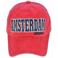 Robin Ruth Fashion Classic Amsterdam cap - Red
