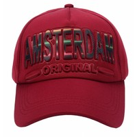 Robin Ruth Fashion Trendy Amsterdam sports cap - Embossed
