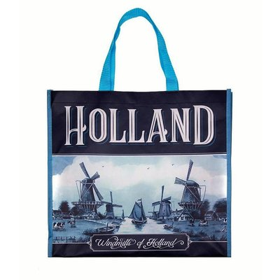 Typisch Hollands Luxury Delft Blue Shopper Holland