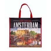 Typisch Hollands Luxe Shopper Photoprint Amsterdam