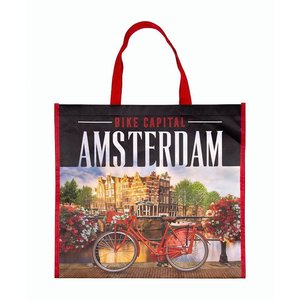 Typisch Hollands Luxe Shopper Photoprint Amsterdam