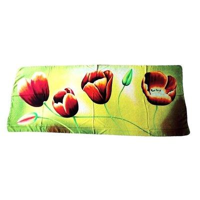 Typisch Hollands Luxe Damesjaal - Tulpen  - Viscose