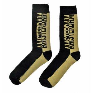 Robin Ruth Men's Socks - Amsterdam-black / cream