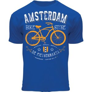 Holland fashion Kinder T-Shirt - Amsterdam the bicycle repairer